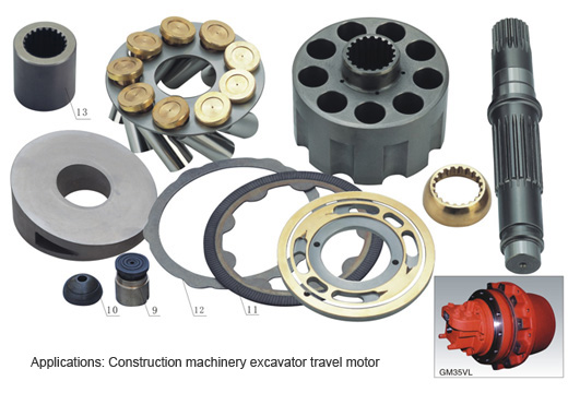 GM35 Travel Motor Series